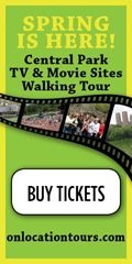 On Location Spring Is Here Central Park Movie Tours