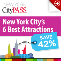 42% off New York 6 Best Attractions!